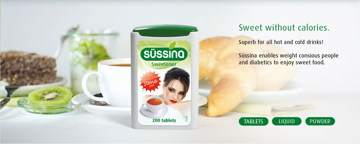 Süssina Stevia Sortiment